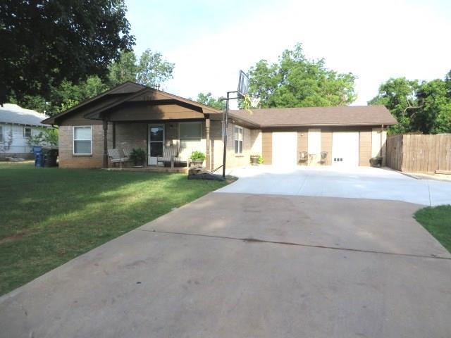 1312 S 10th Street, Chickasha, OK 73018 (MLS #806952) :: Wyatt Poindexter Group