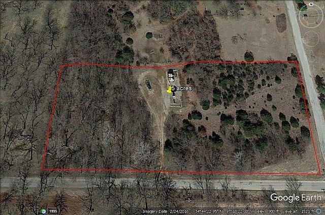 County Road, Pauls Valley, OK 73075 (MLS #807642) :: Wyatt Poindexter Group