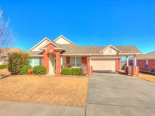 509 Lone Oak Drive, Norman, OK 73071 (MLS #807901) :: Meraki Real Estate