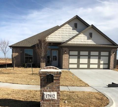 17912 Marron Drive, Oklahoma City, OK 73012 (MLS #808196) :: Barry Hurley Real Estate