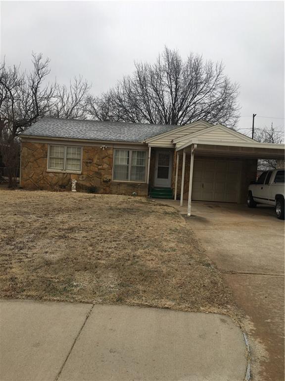 1347 Lafayette Drive, Oklahoma City, OK 73119 (MLS #808228) :: Wyatt Poindexter Group