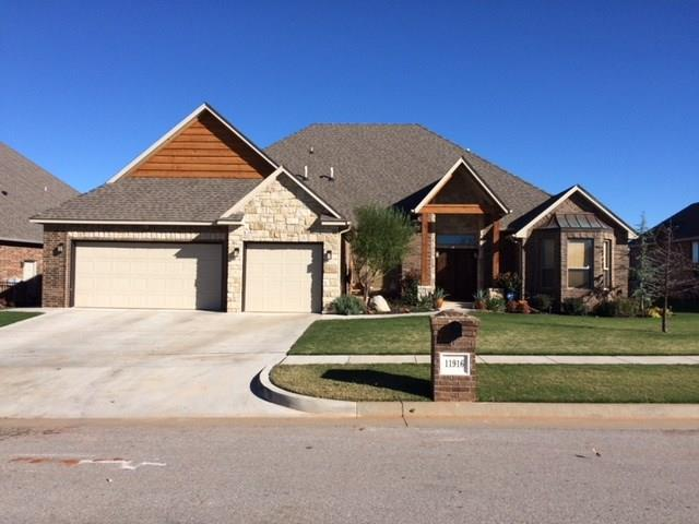 11916 Sawgrass Road, Oklahoma City, OK 73162 (MLS #808472) :: Wyatt Poindexter Group