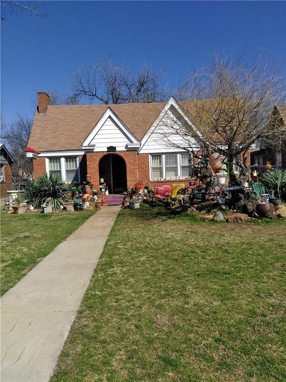 929 NE 17th Street, Oklahoma City, OK 73105 (MLS #810587) :: Erhardt Group at Keller Williams Mulinix OKC