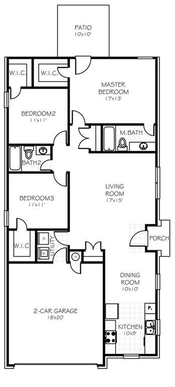 19704 Brunswick Court, Edmond, OK 73012 (MLS #811825) :: Meraki Real Estate