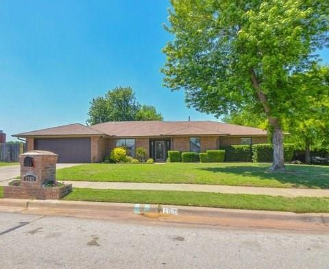 2102 Barrington Drive, Norman, OK 73071 (MLS #815560) :: Barry Hurley Real Estate