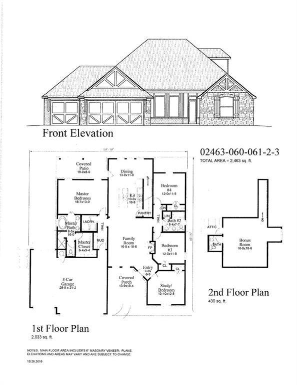 3032 Brookstone Pass Dr, Mustang, OK 73099 (MLS #819627) :: Wyatt Poindexter Group
