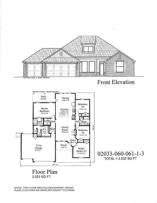3025 Brookstone Pass Dr, Mustang, OK 73099 (MLS #819628) :: Wyatt Poindexter Group