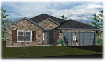 3401 Upland Ridge Drive, Yukon, OK 73099 (MLS #819735) :: Wyatt Poindexter Group