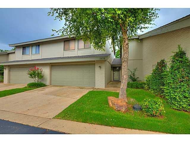 5838 Hefner Village Circle, Oklahoma City, OK 73162 (MLS #821967) :: Erhardt Group at Keller Williams Mulinix OKC
