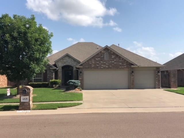 4828 SW 123rd Street, Oklahoma City, OK 73173 (MLS #823544) :: Wyatt Poindexter Group