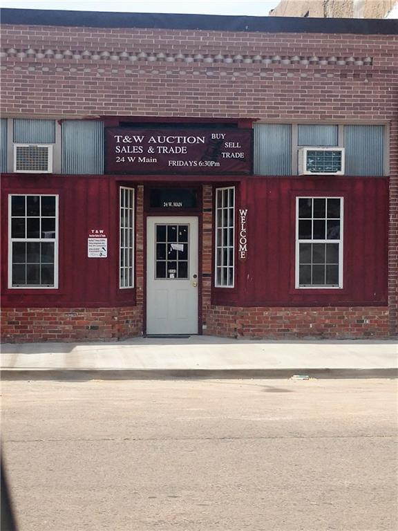 24 W Main, Carnegie, OK 73015 (MLS #824314) :: Barry Hurley Real Estate