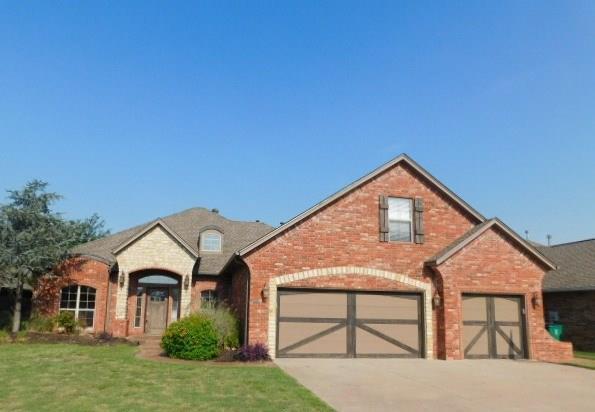 16401 Old Olive Way, Edmond, OK 73013 (MLS #827600) :: Meraki Real Estate