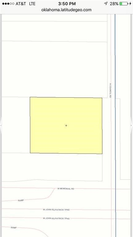 N Council Rd, Oklahoma City, OK 73142 (MLS #828583) :: Barry Hurley Real Estate