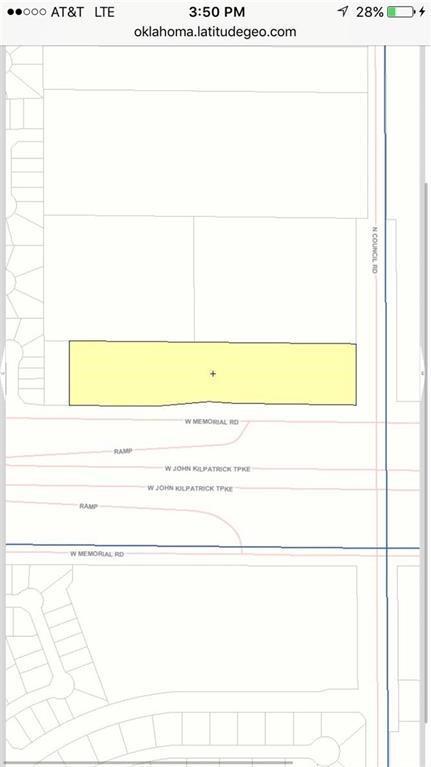 Memorial Rd, Oklahoma City, OK 73142 (MLS #828587) :: Barry Hurley Real Estate