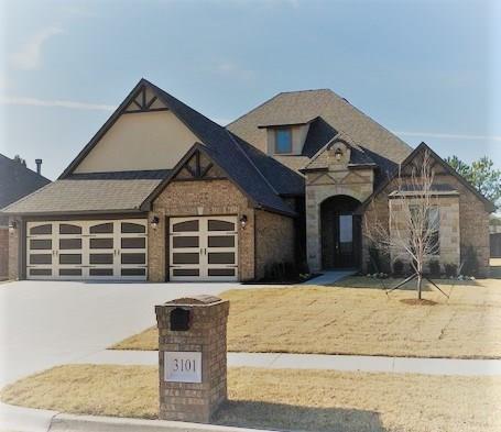 3101 Sycamore Drive, Moore, OK 73160 (MLS #828762) :: Keller Williams Mulinix OKC