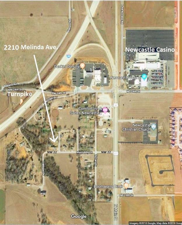 2210 Melinda Avenue, Newcastle, OK 73065 (MLS #840049) :: Erhardt Group at Keller Williams Mulinix OKC