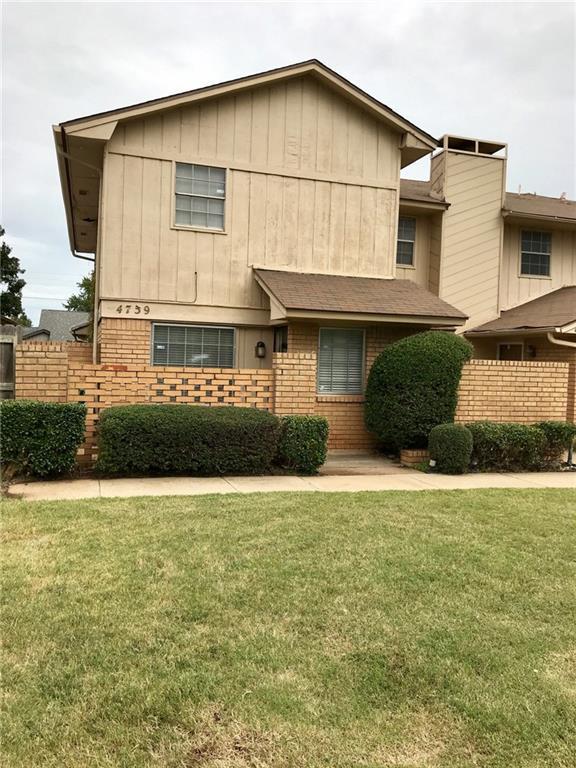 4739 NW 72nd Street, Oklahoma City, OK 73132 (MLS #840422) :: Erhardt Group at Keller Williams Mulinix OKC
