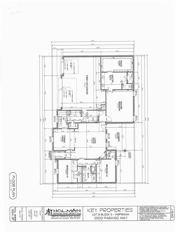 2300 Paraiso, Edmond, OK 73034 (MLS #841349) :: Erhardt Group at Keller Williams Mulinix OKC