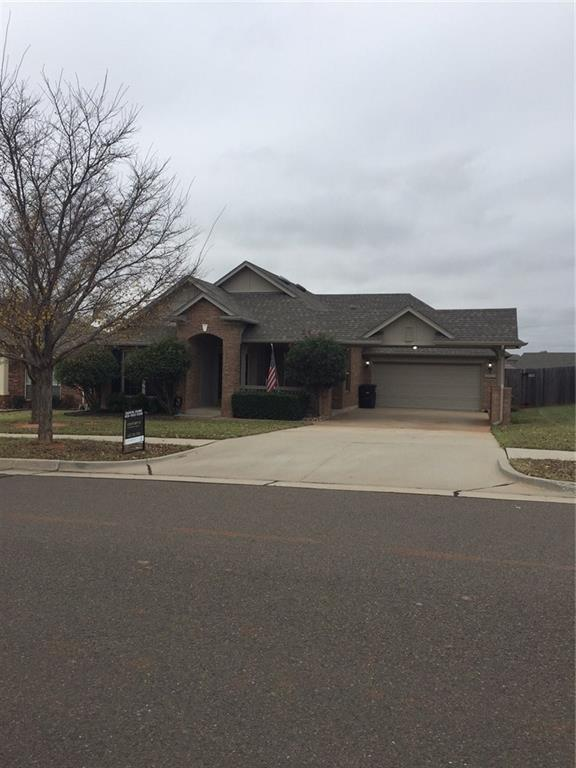 709 Heather Wood, Moore, OK 73160 (MLS #842733) :: UB Home Team