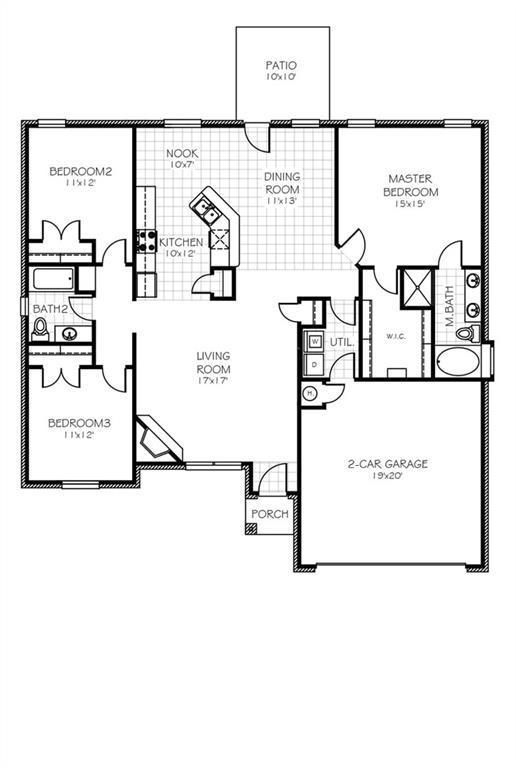 1112 SW 136th Court, Oklahoma City, OK 73170 (MLS #849168) :: Erhardt Group at Keller Williams Mulinix OKC