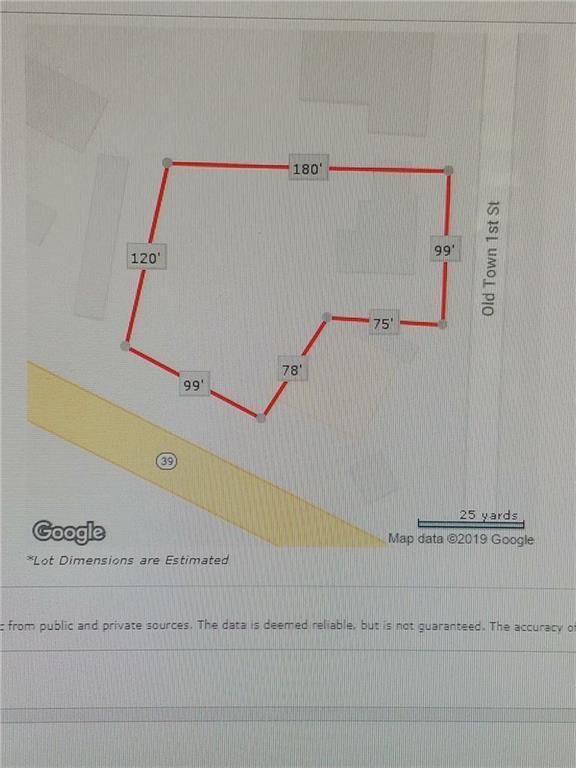 22121 Old Town 1st Street, Dibble, OK 73031 (MLS #866707) :: Erhardt Group at Keller Williams Mulinix OKC