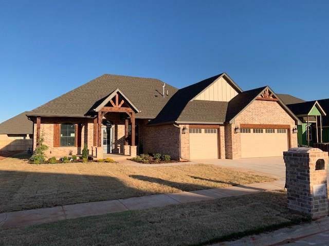 4804 Hambletonian Lane, Mustang, OK 73064 (MLS #886843) :: Homestead & Co