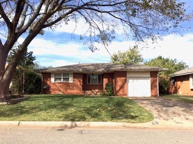 2117 Henderson Drive, Edmond, OK 73013 (MLS #886961) :: KING Real Estate Group