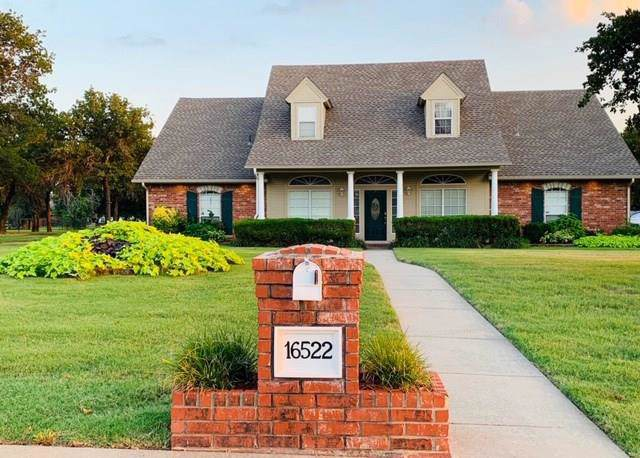 16522 Cobblestone Circle, Choctaw, OK 73020 (MLS #887142) :: KING Real Estate Group