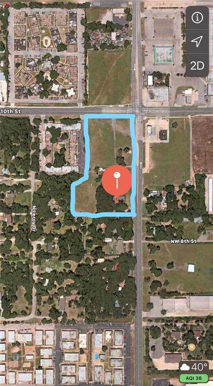 5900 NW 10th Street, Oklahoma City, OK 73127 (MLS #889935) :: Homestead & Co