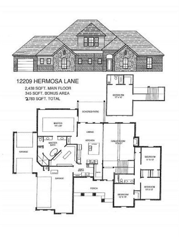 12209 Hermosa Lane, Oklahoma City, OK 73173 (MLS #891832) :: Homestead & Co