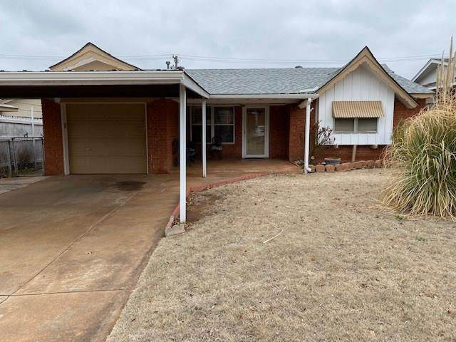 307 Draper Drive, Midwest City, OK 73110 (MLS #901048) :: Keri Gray Homes