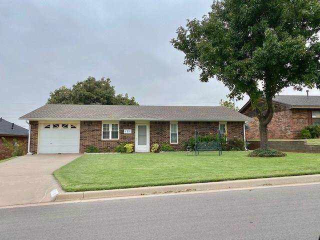 121 W Hiler Street, Weatherford, OK 73096 (MLS #902900) :: Homestead & Co