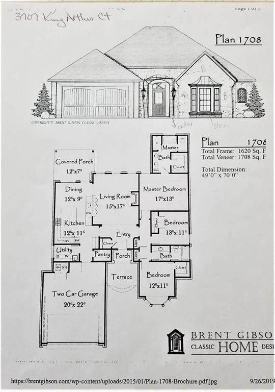 3707 King Arthur Court, Newcastle, OK 73065 (MLS #904889) :: Homestead & Co