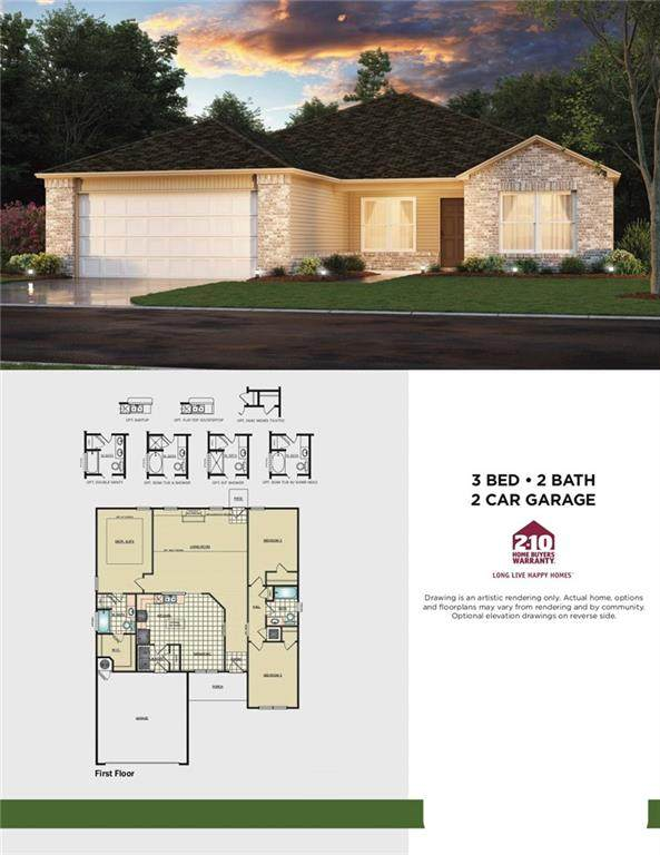 5704 Bent Creek Road, Shawnee, OK 74804 (MLS #906043) :: Homestead & Co