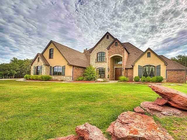 3524 Winding Lake Circle, Arcadia, OK 73007 (MLS #906374) :: Homestead & Co