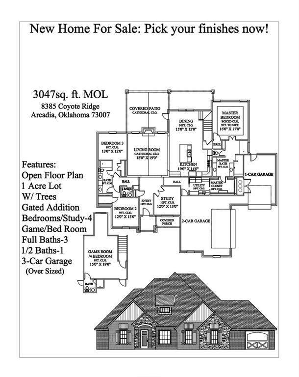 8385 Coyote Ridge, Arcadia, OK 73007 (MLS #908282) :: Homestead & Co