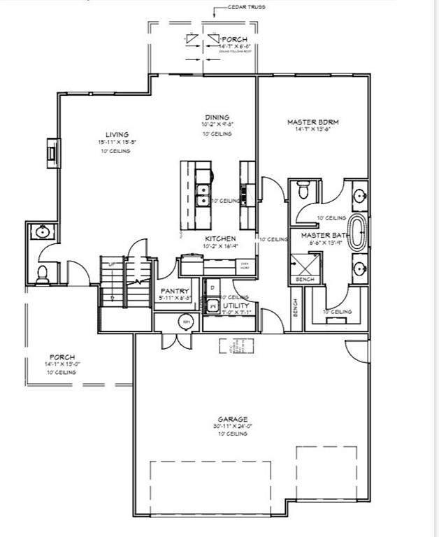 11508 NW 107th Street, Yukon, OK 73099 (MLS #912781) :: Homestead & Co
