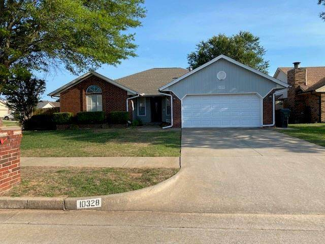 10328 Shannon Drive, Midwest City, OK 73130 (MLS #916731) :: Homestead & Co