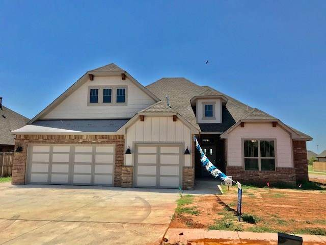 11012 NW 23rd Terrace, Yukon, OK 73099 (MLS #918729) :: Homestead & Co