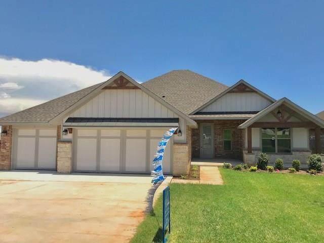 1400 N Wisteria Terrace, Mustang, OK 73064 (MLS #918835) :: Erhardt Group at Keller Williams Mulinix OKC