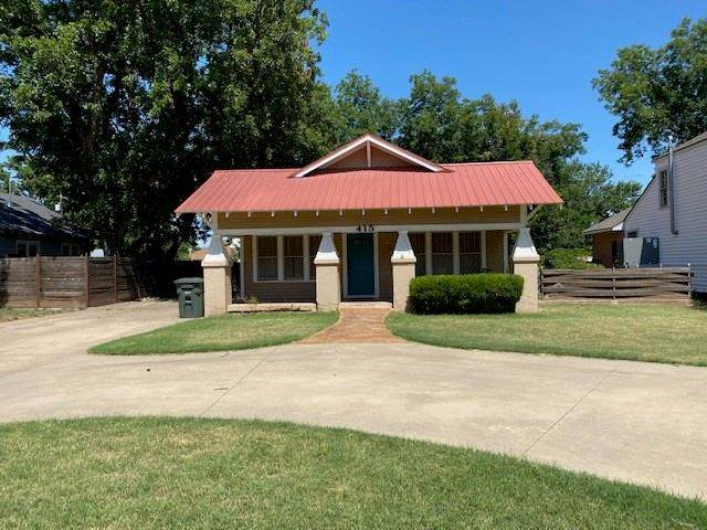 415 S 9th Street, Clinton, OK 73601 (MLS #919494) :: Homestead & Co