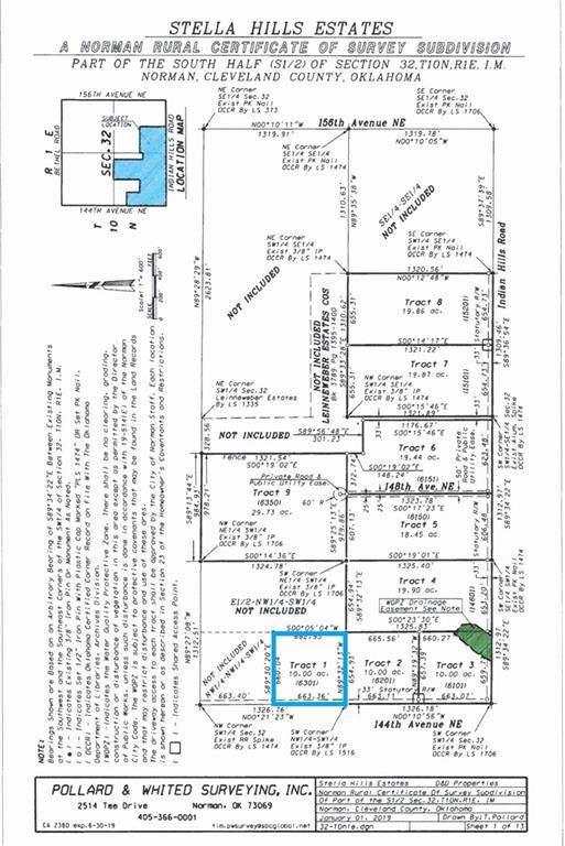 6301 144th Ave Ne, Newalla, OK 74857 (MLS #924639) :: Homestead & Co