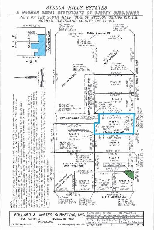 6151 148th Ave Ne, Newalla, OK 74857 (MLS #924691) :: Homestead & Co