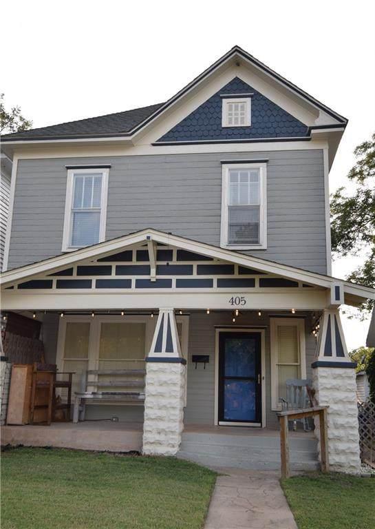 405 N Broad Street, Guthrie, OK 73044 (MLS #926319) :: Homestead & Co