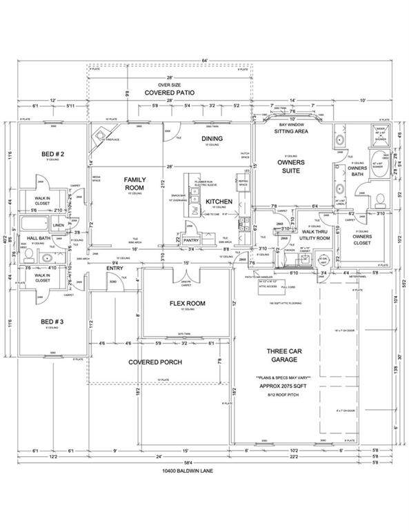 10400 Baldwin Lane, Oklahoma City, OK 73169 (MLS #927536) :: Erhardt Group at Keller Williams Mulinix OKC