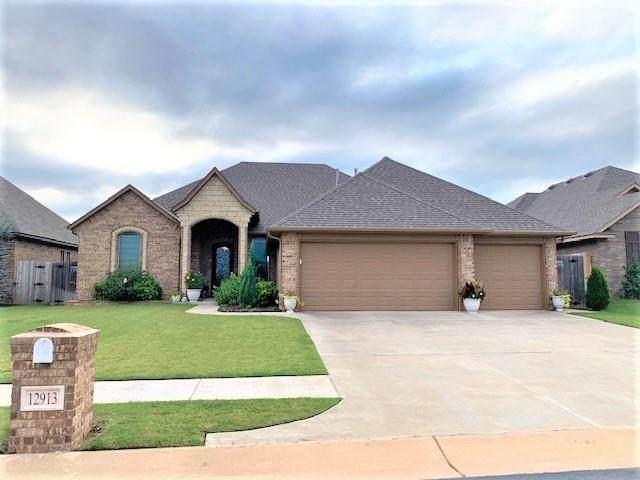 12913 Williamson Farms, Oklahoma City, OK 73173 (MLS #927661) :: Erhardt Group at Keller Williams Mulinix OKC
