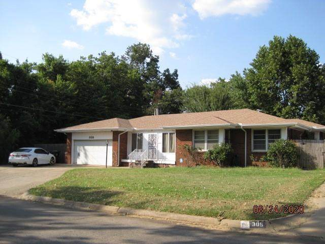 309 W Jarman Drive, Midwest City, OK 73110 (MLS #927674) :: Keri Gray Homes