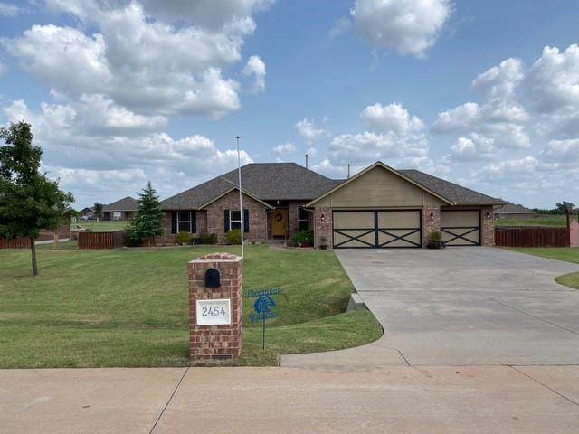 2454 Painted Wagon Circle, Piedmont, OK 73078 (MLS #928727) :: The Oklahoma Real Estate Group