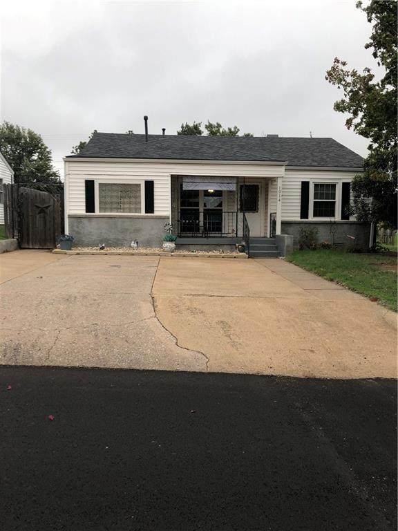 1014 N Caddo Street, Weatherford, OK 73096 (MLS #929893) :: Homestead & Co
