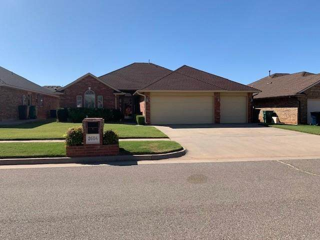 2604 SE 95th Street, Moore, OK 73160 (MLS #930063) :: Erhardt Group at Keller Williams Mulinix OKC